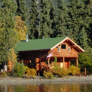 Remote Accommodations and Alaska Cabins; Alaska Wilderness Adventure Travel at Peace of Selby Wilderness in the Brooks Range of Alaska